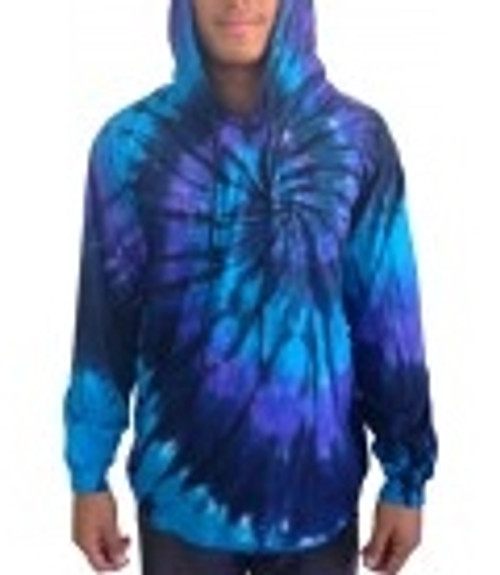 Tye Dye Nuclear With hoodie, 100% cotton