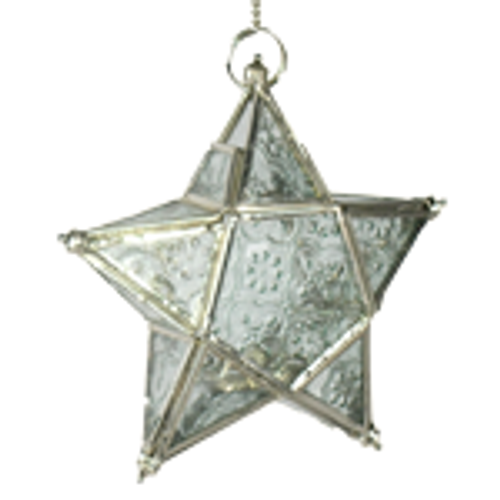 Star T-lite Candle Holder Clear. Looks amazing lite up or just hanging