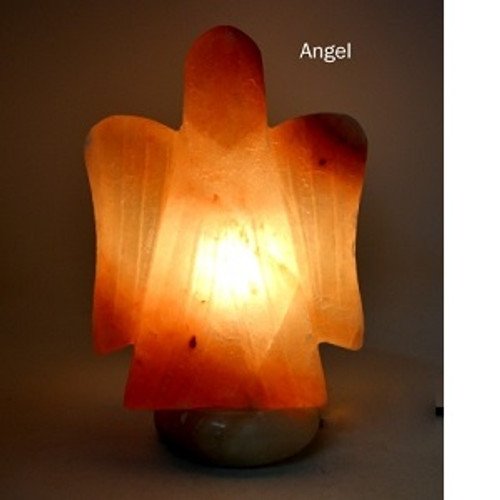 Angel Salt Lamp Himalayan Salt Lamps may provide assistance to headaches, insomnia, hay fever, allergies, asthma & bronchitis. They may increase alertness, productivity, strengthen the immune system, improve breathing & reduce colds & flu. They promote peace, rest & relaxation.