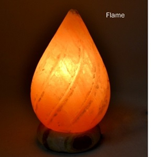 Flame Salt Lamp Approx 15 x 20cm Himalayan Salt Lamps may provide assistance to headaches, insomnia, hay fever, allergies, asthma & bronchitis. They may increase alertness, productivity, strengthen the immune system, improve breathing & reduce colds & flu. They promote peace, rest & relaxation.