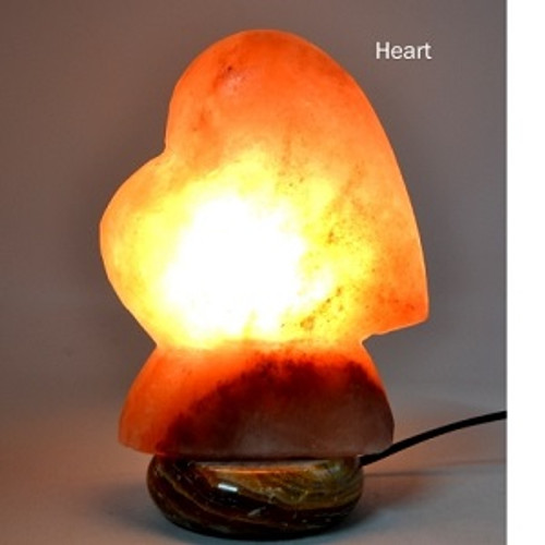 Heart Salt Lamp Approx 25 x 20cm Himalayan Salt Lamps may provide assistance to headaches, insomnia, hay fever, allergies, asthma & bronchitis. They may increase alertness, productivity, strengthen the immune system, improve breathing & reduce colds & flu. They promote peace, rest & relaxation.
