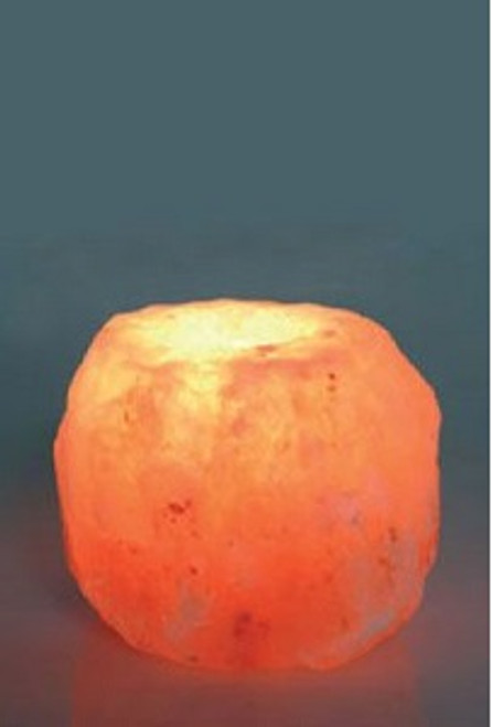 Natural Rock Salt Lamp T-Lite Holder Size varies. Approx 10 x 10cm Enjoy the benefits of your Salt Lamp as well as your favourite Essential Oil. Himalayan Salt Lamps may provide assistance to headaches, insomnia, hay fever, allergies, asthma & bronchitis. They may increase alertness, productivity, strengthen the immune system, improve breathing & reduce colds & flu. They promote peace, rest & relaxation.