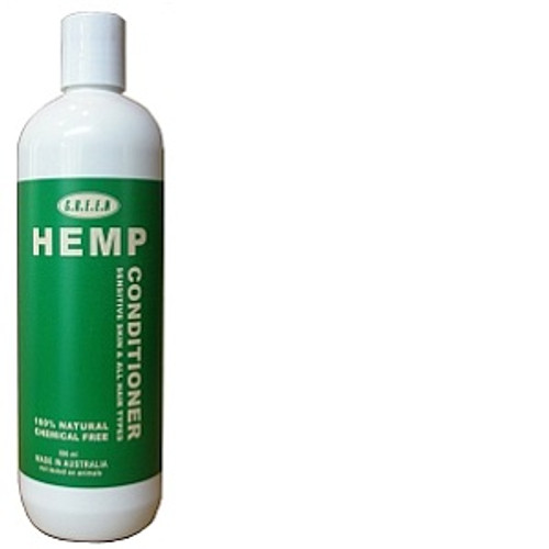 Hemp Conditioner 250ml 100% Natural, Chemical free. NO SODIUM LAUREL SULPHATE Gentle on hair and skin, with a delicate balance of essential oils, including lavender, spearment and bergamont