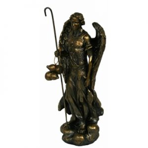 Archangel Raphael Bronze 21cm high