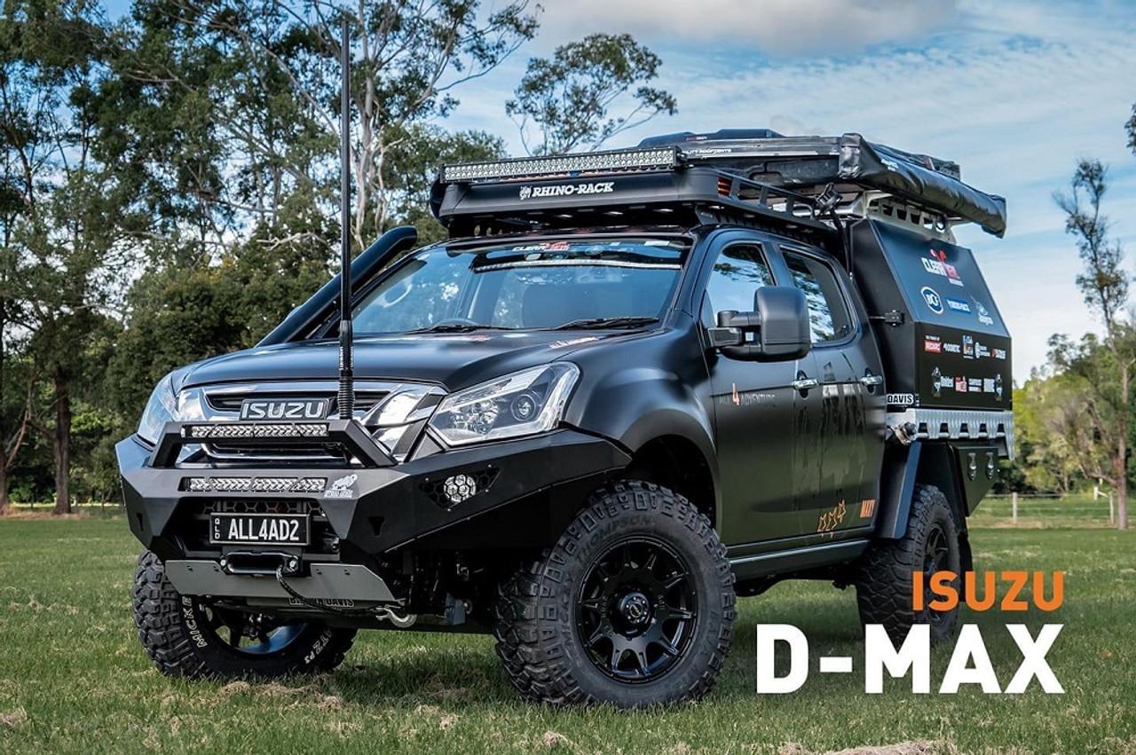 AFN 4x4 Front Bullbar (Isuzu DMAX 2021 Facelift Model)