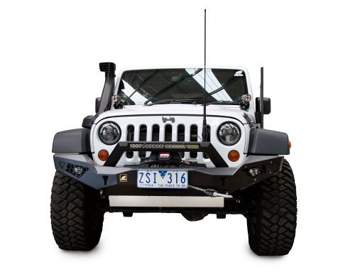 JK Predator bull bar with bolt on stealth hoop