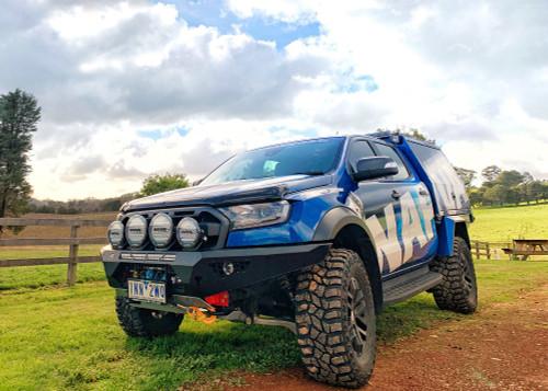 predator bull bar  ford ranger raptor  2018 on