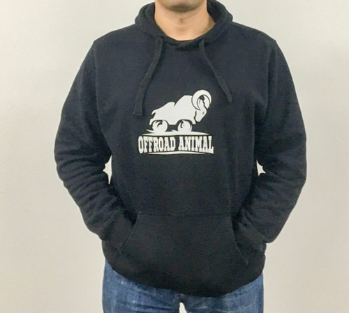 Offroad Animal Hoodie front