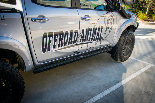 Dmax Rock sliders by Offroad Animal