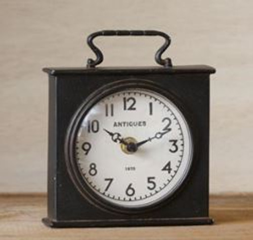 Clock - Black Carriage Clock