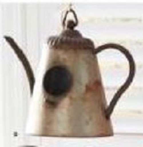 Galvanized Kettle Birdhouse 2