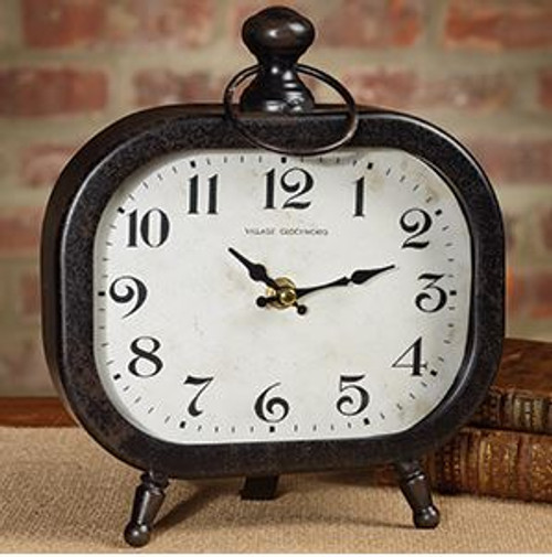 Clock - Black Table Clock