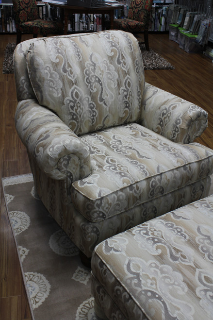 Justice Furniture 720 Chair & Ottoman