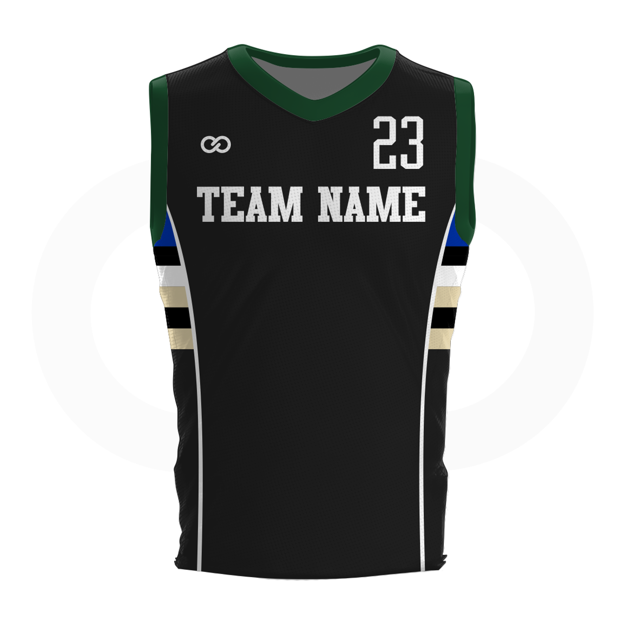 beb0575bd Bucks - Custom Basketball Jersey - Wooter Apparel