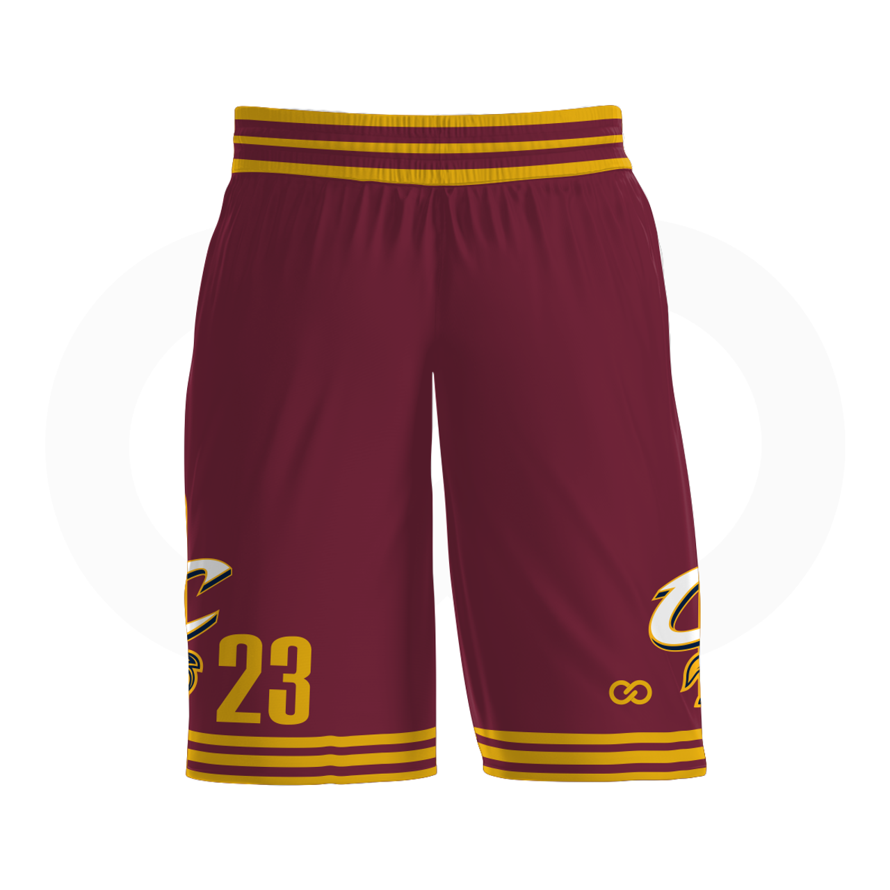 d87073d7163 Cavs - Custom Basketball Shorts - Wooter Apparel