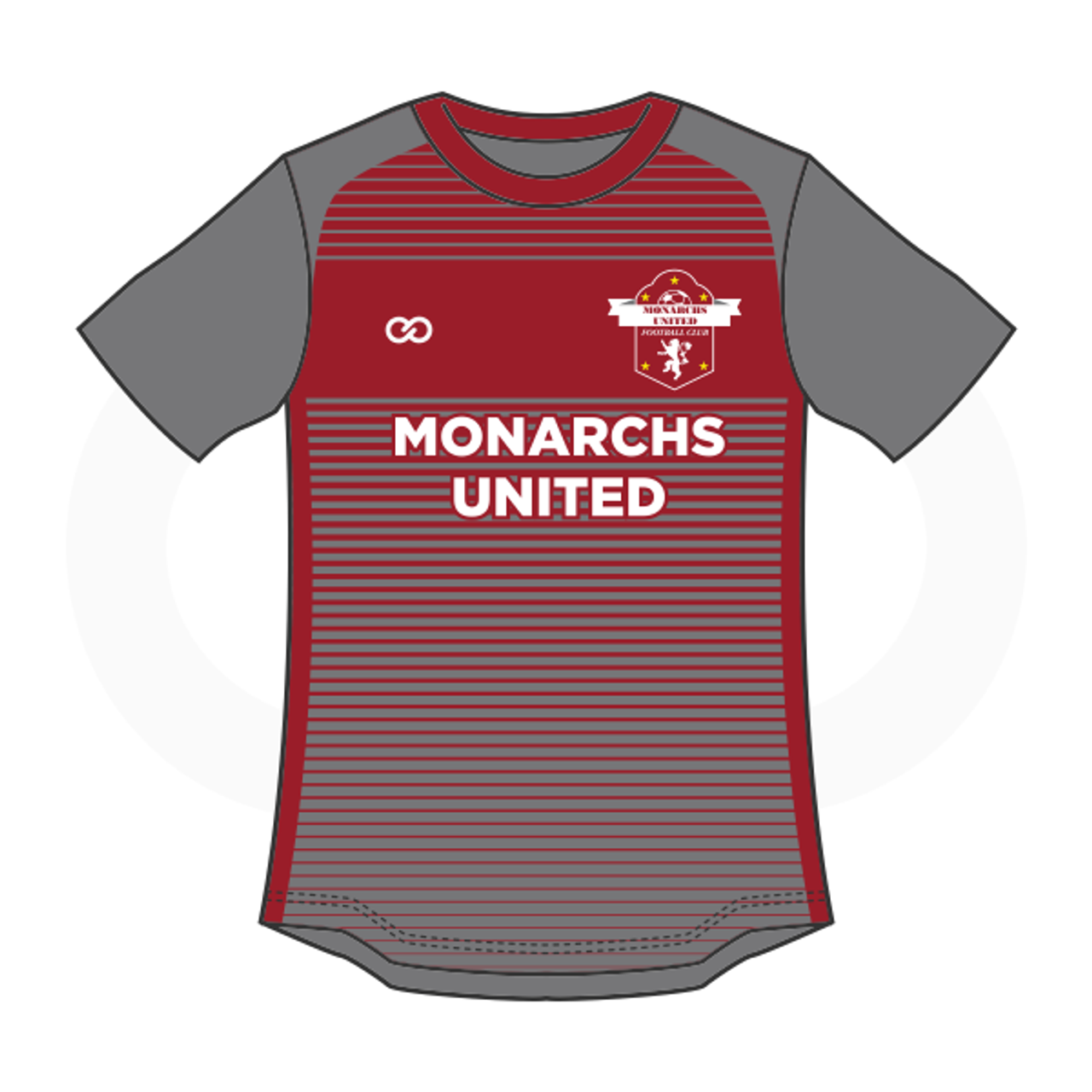 c9bb603c1 Monarchs United Soccer Jersey - Grey - Wooter Apparel