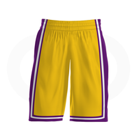 Lakers - Custom Basketball Uniform Full Set