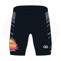Hoops in the Sun Compression Shorts