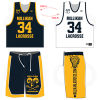 Millikan Lacrosse Reversible Uniform Package