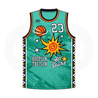 Hoops in the Sun All Stars Jerseys