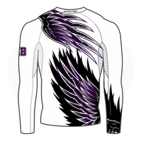 Grant You Wings Womens Long Sleeve Compression Shirt