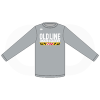 Oldline Soccer Long Sleeve Tee - Grey