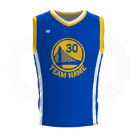 Warriors - Custom Basketball Uniform Full Set