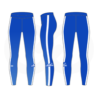 Basketball Beauties Compression Tights - Royal
