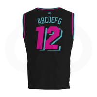 Miami Vice - Custom Basketball Jersey