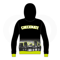Checkmate Basketball Black Hoodie