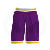 Crenshaw Basketball Uniform Full Set - Purple