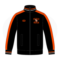 Perkiomen Valley Warmup Jacket - Black