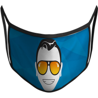 The Schmo Face Sublimated Reusable Mask