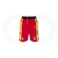 Atlanta Heirs Red Basketball Shorts