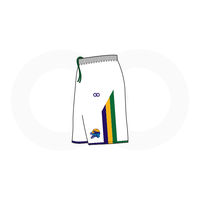 NOLA Gators White Basketball Shorts (Option 1)