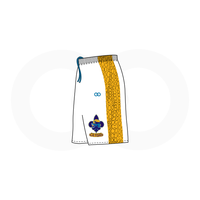 NOLA Gators White Basketball Shorts (Option 2)
