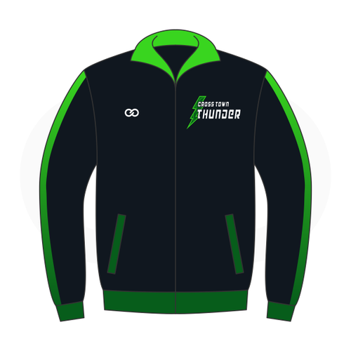 Crosstown Thunder Baseball Track Jacket