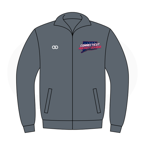 Connecticut Hockey League - Warmup Jacket - Grey