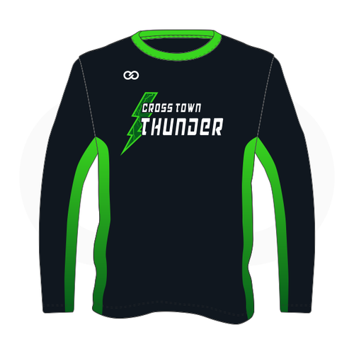 Crosstown Thunder Baseball Long Sleeve Shirt