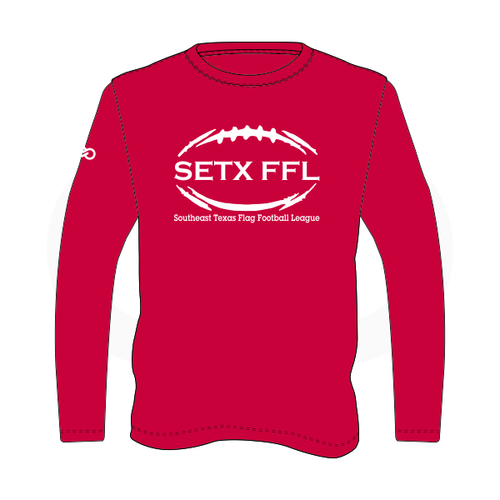 SETX FFL Long Sleeve Shirt Red