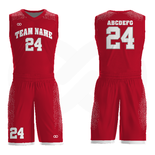 Badgers - Custom Basketball Uniform Full Set