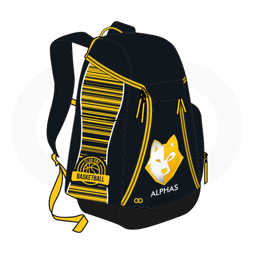 Club One Alphas Basketball Backpack