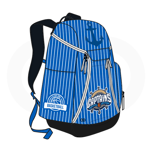 Club One Bay Captain Basketball Backpack