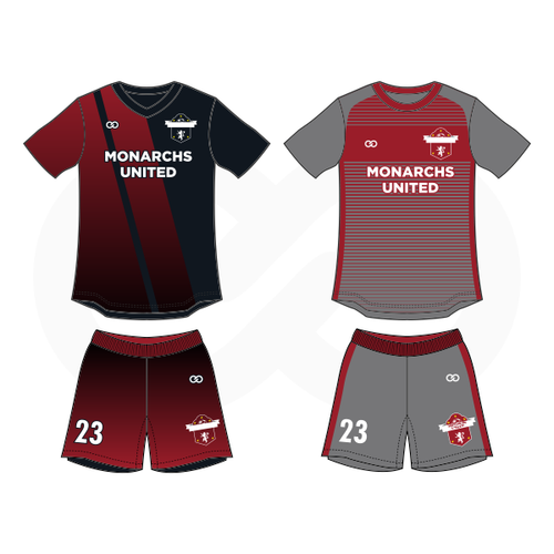 Monarchs United Soccer Home Away Package