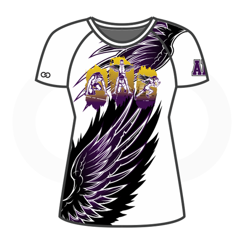 Grant You Wings Womens Compression Shirt