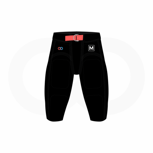 Youth Football Integrated Pants Sizing Kit