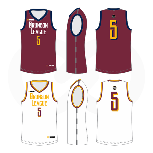 Brunson League Reversible Basketball Jersey - Cavs