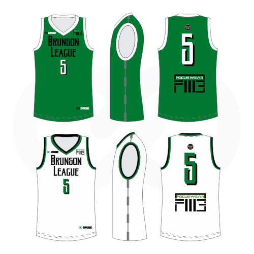 Brunson League Reversible Basketball Jersey - Celtics