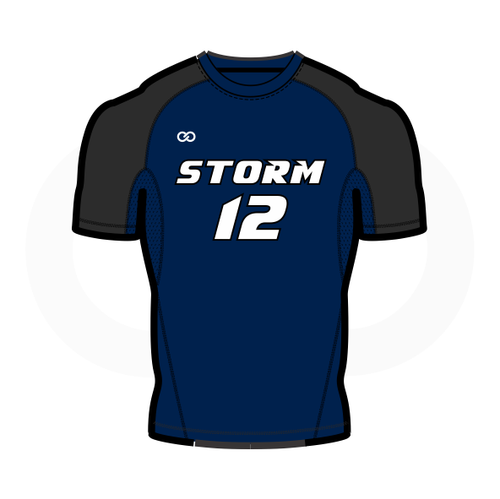 Storm Basketball Short Sleeve Compression Shirt