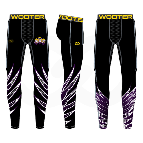 Grant You Wings Mens Compression Tights